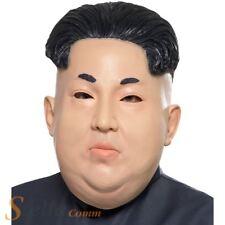 Kin Jong Un Dictator Latex Full Overhead Mask Fancy Dress Costume Accessory