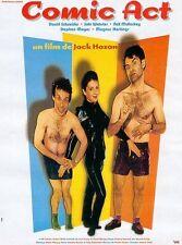Affiche 40x60cm COMIC ACT (1998) Stephen Moyer, Neil Mullarkey, Suki Webster