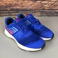 NIKE STAR RUNNER Women's Girls Blue Pink Gym Running Trainers Shoes UK 4 EU 36.5