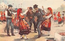 Cartolina - Postcard- Portogallo - Minho - Dancas Regionais