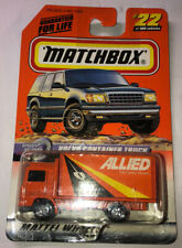Matchbox #22 Allied Movers Volvo Container Truck - NEW SEALED