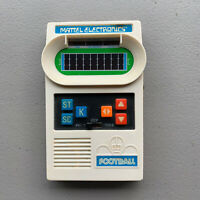 MATTEL FOOTBALL Vintage Electronic Handheld Video game TESTED With instructions