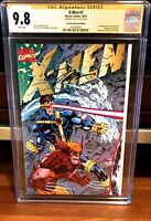 X-Men #1 CGC SS 9.8 SIGNED JIM LEE GATEFOLD SPECIAL COLLECTORS EDITION 1991 NM