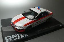 OPEL Omega  Schweizer Polizei 1998  OPEL COLLECTION  ATLAS 1:43