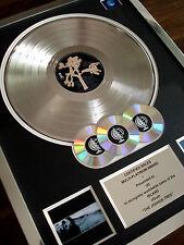 U2 THE JOSHUA TREE LP MULTI PLATINUM DISC RECORD AWARD ALBUM