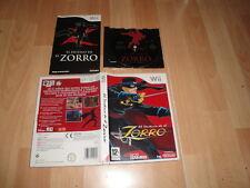 EL DESTINO DEL ZORRO RVL-RZRP-ESP DE 505 GAMES PARA NINTENDO Wii USADO COMPLETO