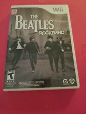 The Beatles Rock Band Nintendo Wii Game 2009 With Manual