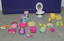My Little Pony Ponyville Rainbow Dash Dress-up with Hairpieces Used Condition