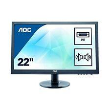 AOC e2275swj 21.5 pouces écran LED - Full HD, 1MS, HAUTS-PARLEURS,HDMI,DVI