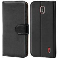Case Cover For Nokia 1 Magnetic Flip PU Leather Wallet Holder Shell Bag
