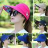 Women Travel Sun Hat Sun Wide Brim Cap Foldable Beach Summer Visor UV Protection