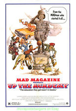 MAD MAGAZINE UP THE ACADEMY MOVIE POSTER 27x41 Folded 1980 COMEDY