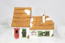 Department 56 Dickens' Village Series Bob Cratchit Tiny Tim (1986) #65005