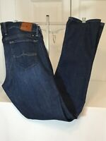 LUCKY BRAND Women's Cate Stacked Skinny Dark Wash Denim Jeans Size 10/30 EUC