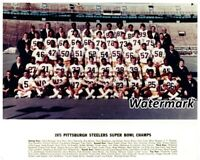 NFL 1975 Super Bowl Champs Pittsburgh Steelers Color Team Picture 8 X 10 Photo