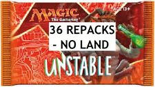 UNSTABLE Magic:Gathering MTG REPACK 36 Pack Booster Box w/Rares+Foils & 2 Mythic