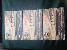 Set 3 colour postcards Titanic 90th anniversary maiden voyage different postmark