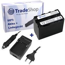 AKKU + LADEGERÄT für Sony HDR-AX2000 DCR-VX1000 HDR-AX-2000 DCR-VX-1000