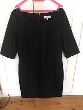 JASPER J CONRAN LADIES BLACK DRESS SIZE UK 8