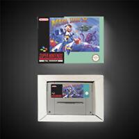 Megaman X PAL EUR Version With Retail Box Action Game Super SNES Nintendo