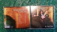 To the Core;Vinnie Moore;UFO,Alice Cooper;Red Rider;guitar God Signed cd -dvd lp