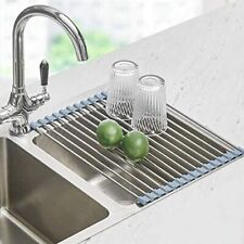 Roll Up Dish Drying Rack, Seropy Over The Sink Dish Drying Rack Kitchen Rolling