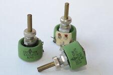Cable-potenciómetro/rheostat V. CRL tipo p4, 8 kOhm/4w, tubos amplificadores, nos