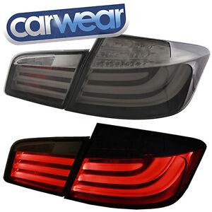 M5 STYLE SMOKE LED TAIL LIGHTS BMW F10 5-SERIES 520D 520i 528i 535i & 550i 10-14
