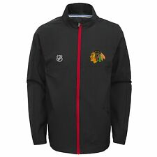 OuterStuff NHL Youth (8-20) Chicago Blackhawks Prevail Lightweight Jacket