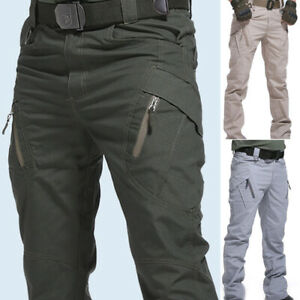 Mens Cargo Pants Military Army Combat Trousers Tactical Airsoft Work Pant 3XL