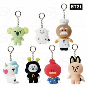 BTS BT21 Official Authentic Goods Universe Body Bagcharm + Tracking Number