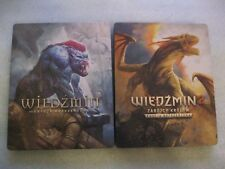 The Witcher 1 & 2 - Steel Case,STEELBOOK G2