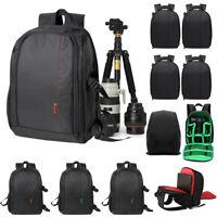Large Waterproof DSLR Camera Backpack Laptop Shoulder Bag/Case for Canon Nikon