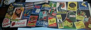 publital 1954-pieghevole pubblicitario illustrato-fila-perugina-stock-aquila