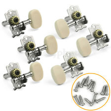 6 pcs Classical Guitar String Tuning Peg Tuners silvery Machine Heads Keys Tuner