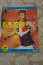 1997 AFL WA ISSUE FOOTBALL RECORD FREMANTLE GEELONG RND21