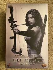 Hot Toys MMS 128 Blade Trinity Abigail Whistler Jessica Biel 1/6 Figure RARE
