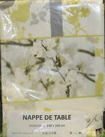 nappe de table toile cire pvc 130x160 cm