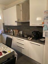 cucina bianca lucida