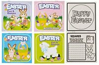 "Pack of 12 - 5"" Easter Activity Books  - Party Loot Bag Fillers"