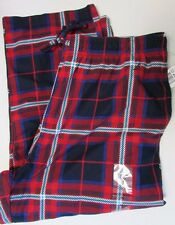 NWT Nautica Pajama Sleep Pants Flannel RED Plaid Size XL