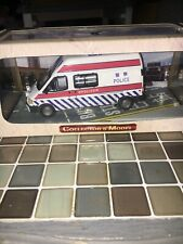 Csm 1/43 ford transit Hong Kong police Emergency Unit limited edition