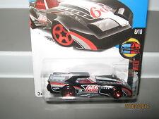 Hot wheels 76 Greenwood Corvette Black 63/250 mint boxed 2015