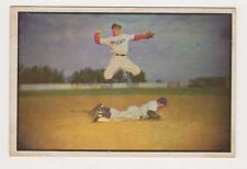 1953 Bowman Color #33 Pee Wee Reese - Brooklyn Dodgers, Ex - Mint Condition