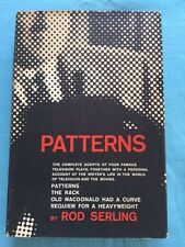 PATTERNS - FIRST EDITION BY ROD SERLING SIGNED BY JACK PALANCE