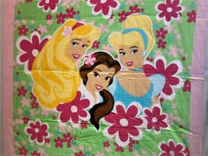 "NEW Disney PRINCESS Beach XL TOWEL Cinderella Belle Aurora 60 x 60"" Blanket Pink"