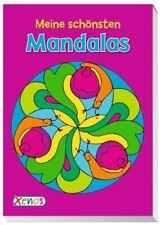 Meine schönsten Mandalas, Malblock,  Broschiert  A5