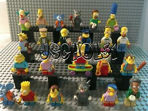 LEGO The Simpsons Minifigures - Homer, Marge, Bart, Lisa - You Pick -Series 1, 2