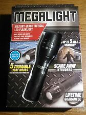 Tactical Flashlight Super Bright CREE LED 5x Zoomable Waterproof Lighting Lamp