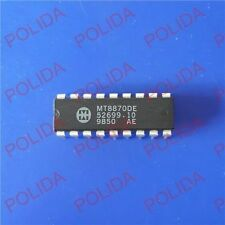 10PCS DTMF DECODER RECEIVER IC MITEL DIP-18 MT8870DE